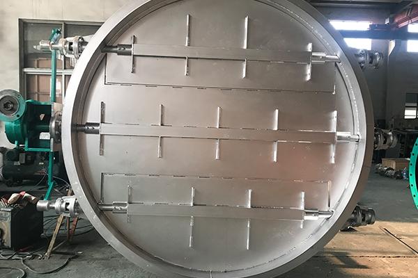 全不锈钢电动圆风门